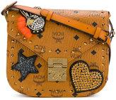 MCM small embellished Patricia bag