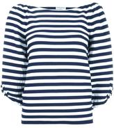 Sonia Rykiel puffed thee-quarter sleeves blouse