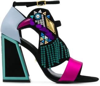 Kat Maconie colour block sandals