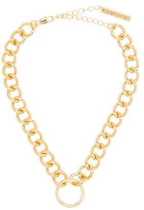 Frame Chain Hooker Gold-plated Choker - Gold