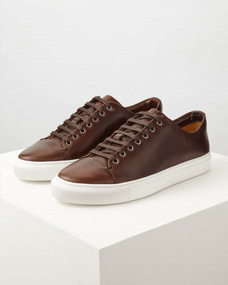 Jigsaw Campbell Leather Trainer