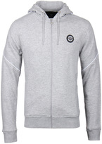 Creative Recreation Palmdale Grey Marl Zip Through Sweatshirt