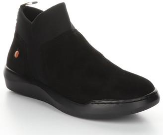 Fly London Leather Rubber Heel Ankle Boots - Belu