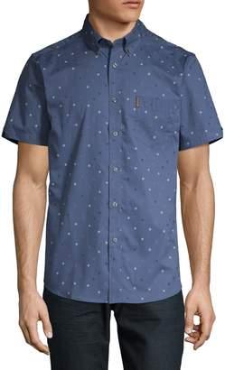 Ben Sherman Dotted Short-Sleeve Shirt