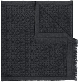 Salvatore Ferragamo Gancini scarf