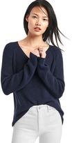 Gap Soft textured merino wool blend sweater