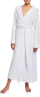 Hanro Hooded Plush Long Robe