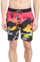 Billabong Men's X Warhol Camo Fade Lo Tide Board Shorts