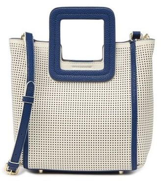 TMRW Studio Perforated Square Handle Handbag - Antonio Mini