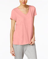 Eileen Fisher Cotton Jersey V-Neck T-Shirt, Regular & Petite