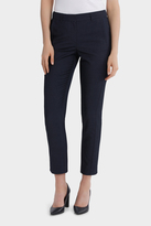 Basque Indigo Slim Detail Suit Pant