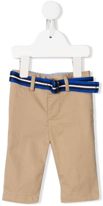 Ralph Lauren Kids Belted Slim-Fit Chinos