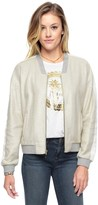 Juicy Couture Metallic Foil French Terry Jacket