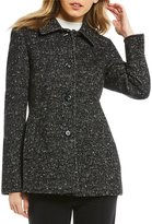 Preston & York Classic Tweed Wool Barn Coat