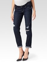 Paige Jimmy Jimmy Skinny Maternity - Rebel Destructed