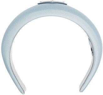 Prada Logo Plaque Headband
