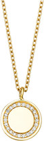 Astley Clarke Cosmos 14ct yellow-gold and diamond pendant necklace