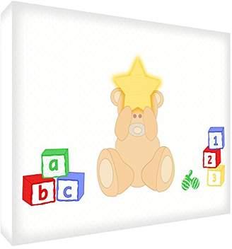 Camilla And Marc Feel Good Art Bearhe Art Pad Acrylic Bear with Heart (A6BLK 15De Diamond Polishing Ted 14.8 x 10.5 cm, Multi-Colour