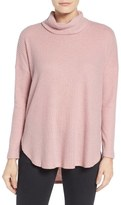 Bobeau Women's Cowl Neck Sweater
