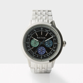 Paul Smith Men's Black And Silver 'Precision' Watch