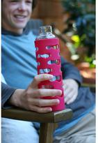 U Konserve 20 fl. oz. Glass Bottle with Silicone Sleeve in Magenta