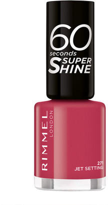 Rimmel 60 Seconds Super-Shine Nail Polish 8Ml 271 Jet Setting