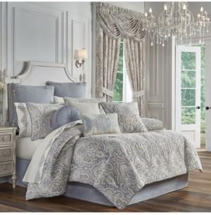 J Queen New York Aidan California King 4 Piece Comforter Set Bedding