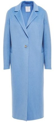 Sandro Emilie Brushed Wool-blend Felt Coat