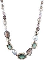 Alexis Bittar Georgian Stone Beaded Single Strand Necklace