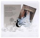 Hortense B. Hewitt Mr & Mrs Box Frame - White