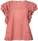 Sea Khloe pompom blouse