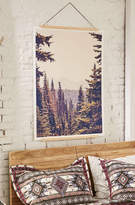 Urban Outfitters Kurt Rahn Mountains Through The Trees Art Print