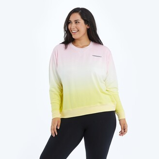 Summersalt The Softest French Terry Relaxed Crew - Ombre
