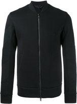 Helmut Lang panelled sleeve bomber jacket