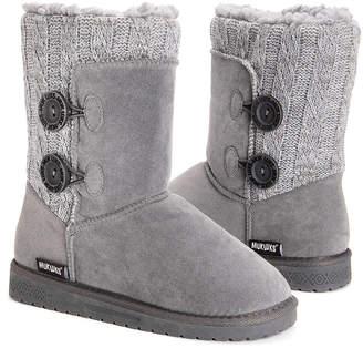 Muk Luks Women's Casual boots Grey - Gray Matilda Boot - Women