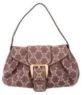 Celine Leather-Trimmed Vintage Bag