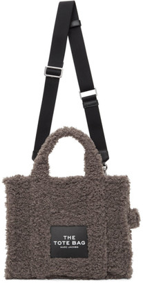Marc Jacobs Grey The Teddy Small Traveler Tote