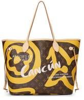 Louis Vuitton Yellow Summer Spirit Monogram Tahitienne Neverfull MM NM