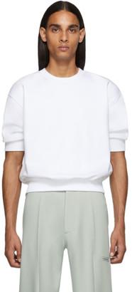 Random Identities White Side Zipped Sweatshirt
