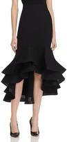 Gracia Fluted Trumpet Skirt