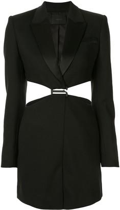 Dion Lee tuxedo blazer dress