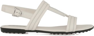 Tod's Tods Smooth Leather Sandal