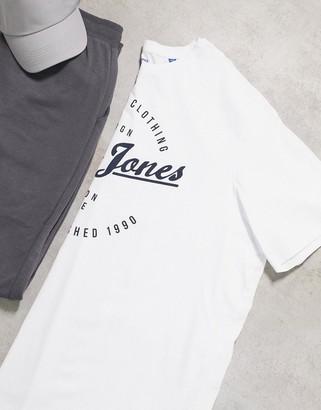 Jack and Jones Originals round logo t-shirt