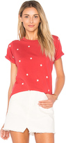 Wildfox Couture Football Star Tee in Red. - size M (also in )