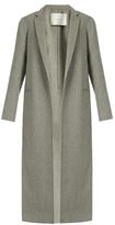 ADAM by Adam Lippes Notch lapel cashmere and wool-blend coat