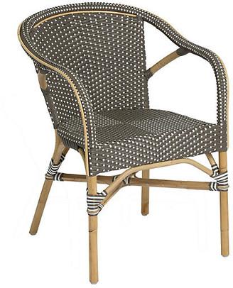 Madeleine Bistro Armchair - Cappucino - Sika Design