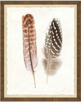 One Kings Lane Natural Feathers Print I
