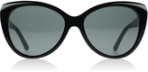 DKNY DY4125 Sunglasses Black / White 362787 57mm