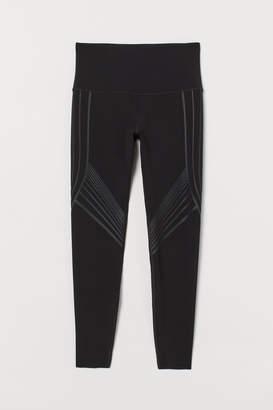 H&M Shaping Leggings High Waist - Black