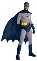 Batman Men's DC Comics Classic 1966 Series Grand Heritage Costume - One Size Fits Most